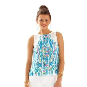 Lilly pulitzer new Iona shell long story